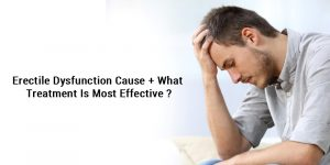 erectile dysfunction cause