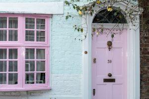 house home door window