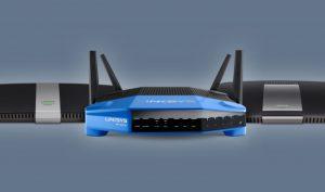 Linksys wireless system